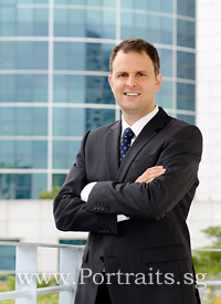 corporate headshot of ceo in singapore