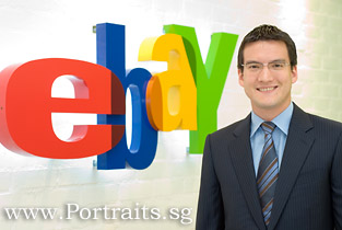 singapore casual informal corporate headshots portraits in office